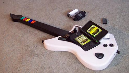 Guy merges PS2 guitar with Guitar Hero: On Tour