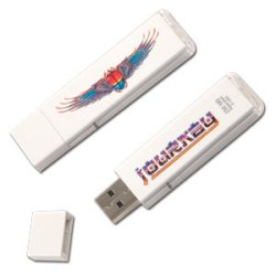 Journey USB flash drive comes to you with open arms