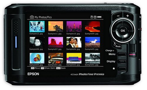 Epson announces expensive photo viewers: The P-6000 & P-7000