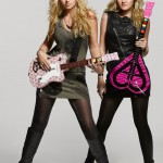 Teen girls get Aly & AJ guitar controllers