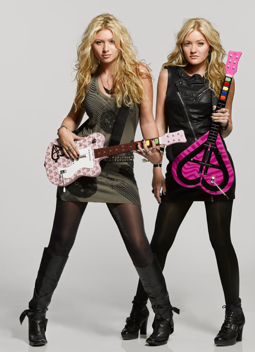 Aly & AJ Guitar Controllers