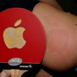 iSpank Apple logo spanking paddle