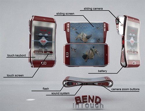 Bend Mobile concept has expanding camera, two screens