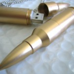 Laptop piercing bullet USB Flash Drives