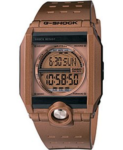 Casio G-Shock G8100A-5 is slightly steampunk