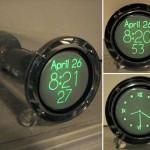 Cathode ray tube clock is retro-sexy
