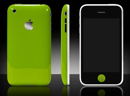 iPhone 3G: Now in technicolor