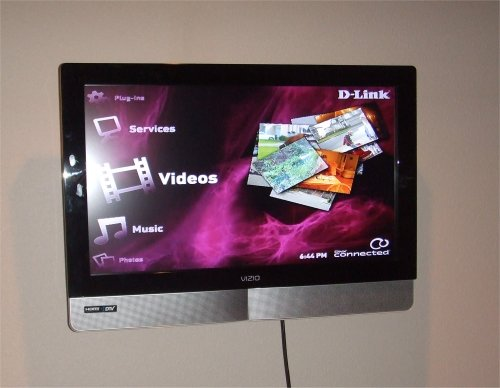 Interface for the DivX Connected HD media player