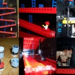 Lego Donkey Kong that moves