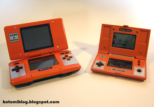 Game and Watch DS mod