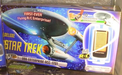 R/C Star Trek Enterprise glider