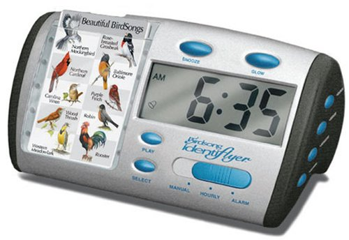 Wake up to a bird call alarm clock
