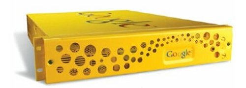 Updated Google search appliance looks like Swiss Cheese