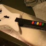 Guitar Hero cake rocks the bakery
