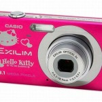 Casio Hello Kitty branded Exilim 8.1 MP digital camera