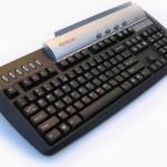 KeyScan keyboard with built-in color scanner