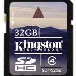 Kingston announces massive 32 GB SDHC Elite Pro Memory Card