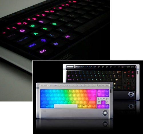 Luxeed LED keyboard hits the U.S.