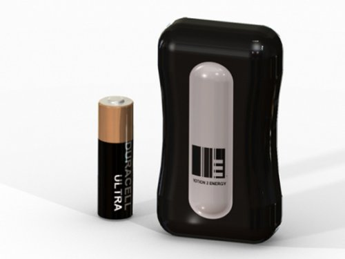 M2E charges your cell phone with kinetic energy