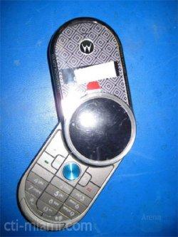 Motorola V70 handset spotted, looks retro