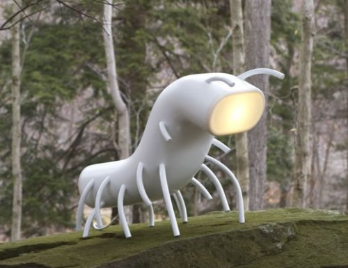 Nymph Lamp illuminates, creeps you out at night