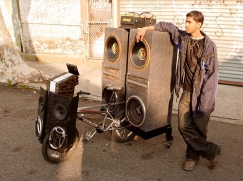 The ultimate bike sound system