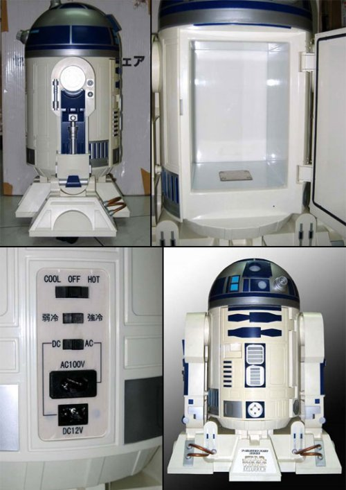 R2-D2 fridge keeps stuff cold as Hoth