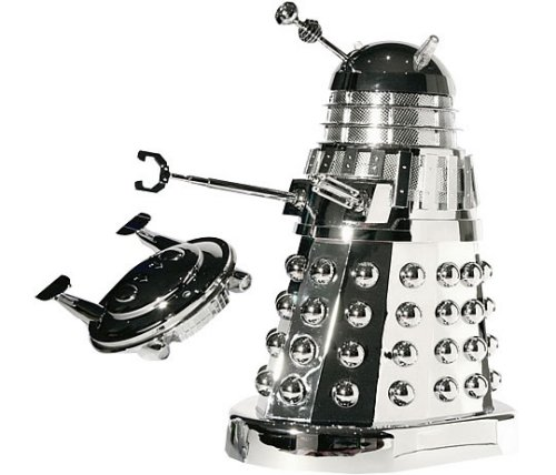 Doctor Who R/C Dalek exterminates with extreme shine