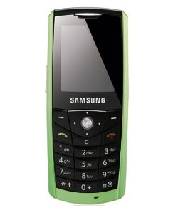 Samsung E200 Eco with corn-based shell