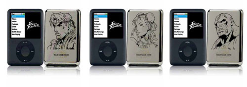 Street Fighter limited edition iPod