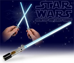 Mini USB Lightsabres for tiny duels