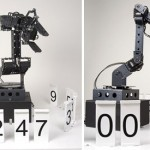Robotic Stonehenge Clock is always busy