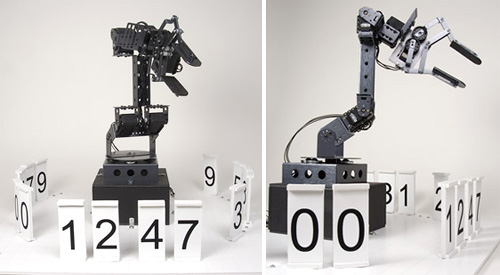 Robotic Stonehenge Clock is always busy