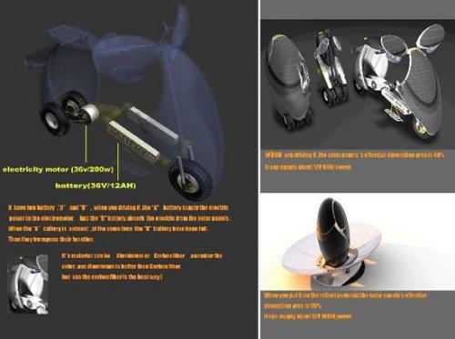 Sun Fold Bike concept