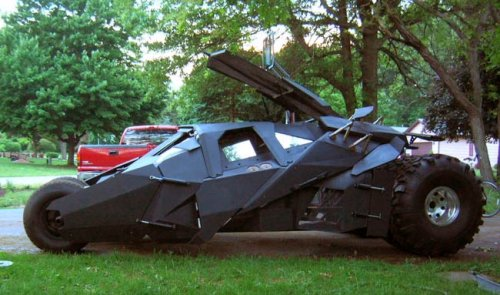 DIY Tumbler built by one man, not Batman