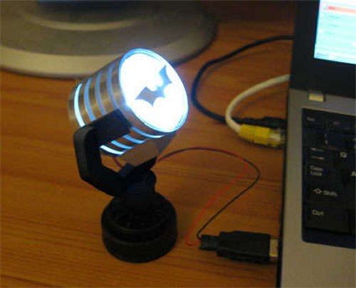 Return of the USB-powered Batman spotlight