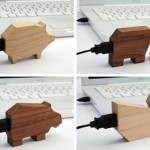 Wooden animal USB drives get no respect
