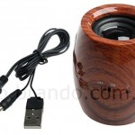 Donkey Kong would love the USB Beer Barrel speaker