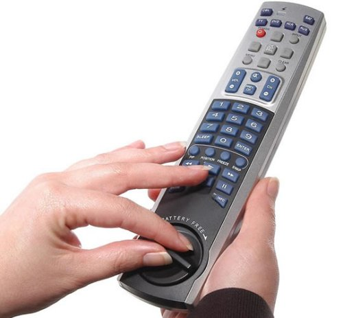 Remote Control that winds up