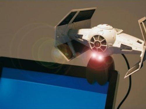Star Wars Tie Fighter webcam