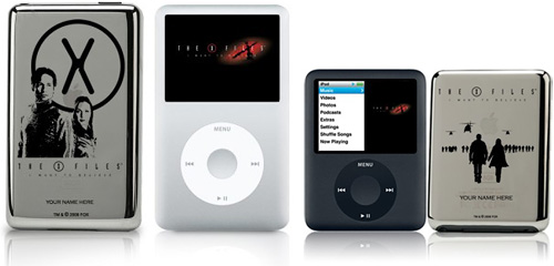 Limited edition X-Files iPods