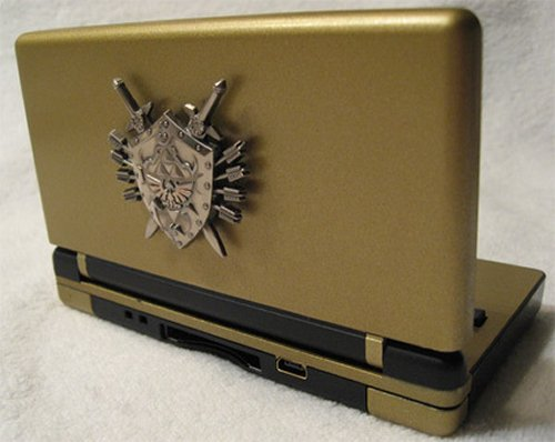 Zelda DS with shield