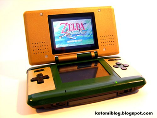 Zelda Triforce Nintendo DS Mod