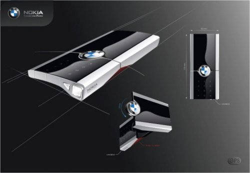 Nokia BMW video phone concept