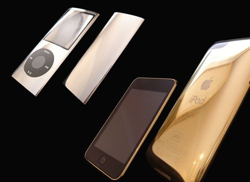 Goldstriker's 24karat and 18karat iPods: For those with golden parachutes