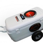 BoomCooler: Stereo in an cooler