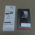 120GB Zune sold early
