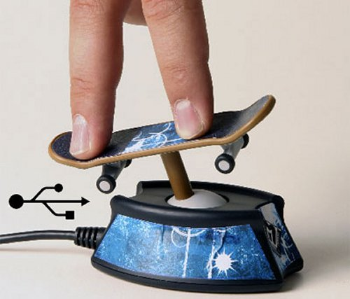 Finger Skateboards get the Wii treatment