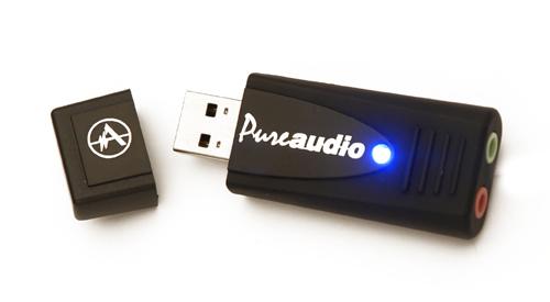 Andrea PureAudio USB High Fidelity External Sound Card (USB-SA)
