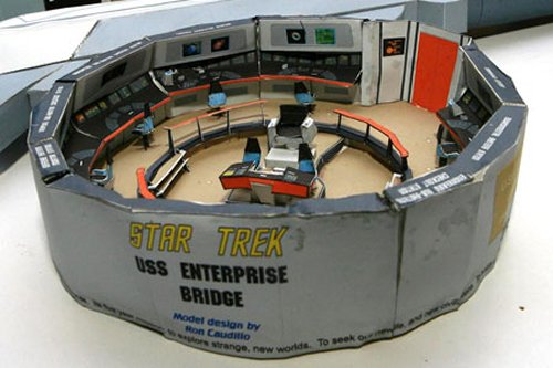 Wonderful Guy Builds Star Trek Enterprise From Rice Krispies Boxes Part 18